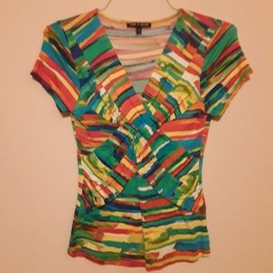 Cable and Gauge top, Sz S
